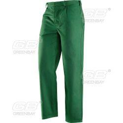 Pantalone cotone massaua col. verde