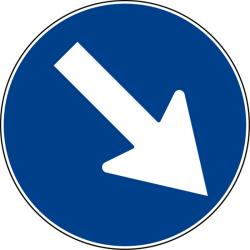 Segnaletica temporanea - disco in VTR