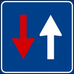 Segnaletica temporanea - targa in VTR
