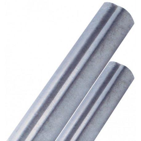 Palo tubolare zincato ø 48 mm antirotazione con tappo